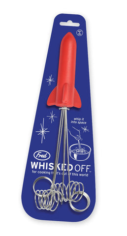 Fred and Friends Whisked Off Rocket Wire Whisk