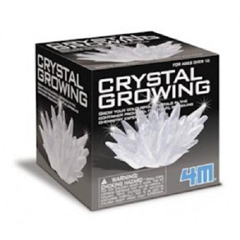 4M Crystal Growing Chemistry Experiment Kit - White