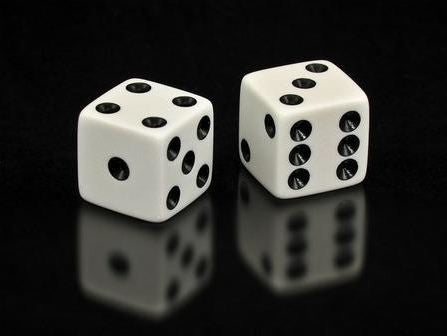 Game Dice 5/8 in. White-Pack of 20