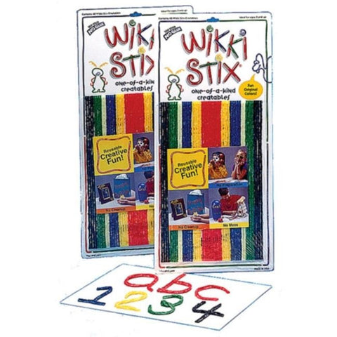 ORIGINAL Primary Wikki Stix: 48 Pc Creative Craft Fun