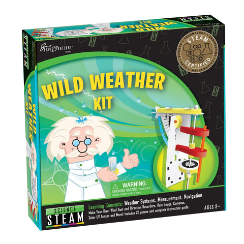 Wild Weather Kit by University Games - STEAM Certified