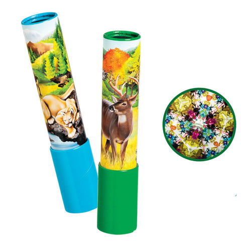 North American Wildlife Kaleidoscopes - Set of 2 Unique Designs