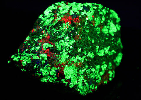 "1.5"" Willemite from Franklin, New Jersey - Fluorescent Green/Red Mineral Specimen - Small"