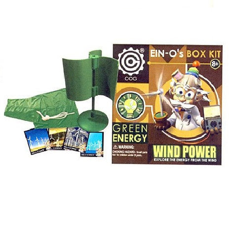 Ein-O's Wind Power Box Kit Green Energy Science