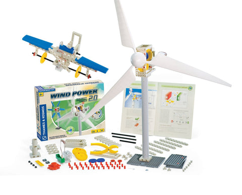 Thames & Kosmos Construction: WIND POWER 2.0: Science Kit