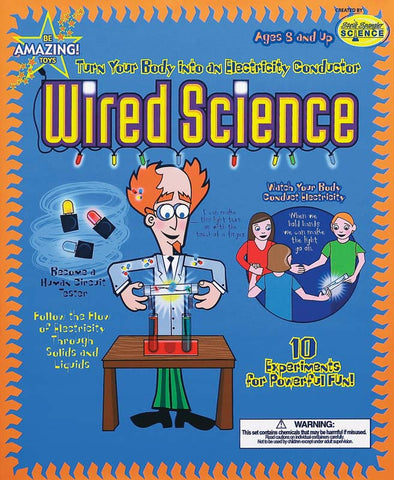 Be Amazing Toys Wired Science 10 Fun Activities – Online Science Mall