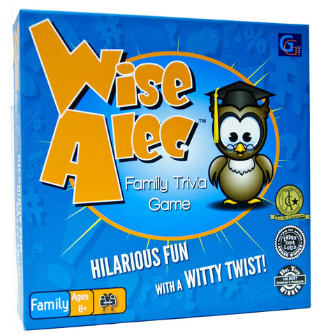 Wise Alec: The Family Trivia Board Game by Griddly Games