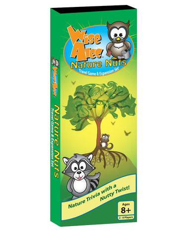 Wise Alec: Nature Nuts Travel Game & Expansion Set by Griddly Games