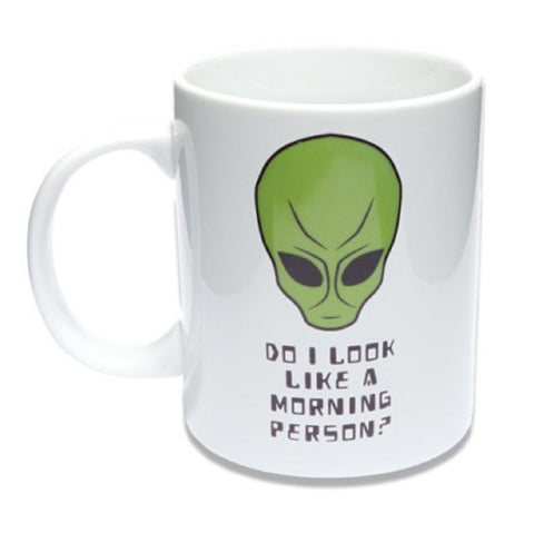 Ceramic Alien Coffee Mug Tea Cup