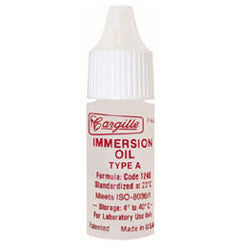 Microscope Immersion Oil Type A Low Viscosity 1/4 ounce