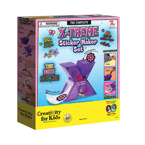 Complete X-Treme Sticker Maker Set - Make Your Own Stickers Machine