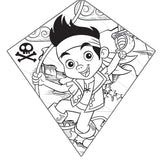 X Kites Jake and the Never Land Pirates Color-Me-Kite 26 Inches Tall