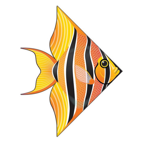 54 Inch WindnSun DeltaXT Tropical Fish Kite
