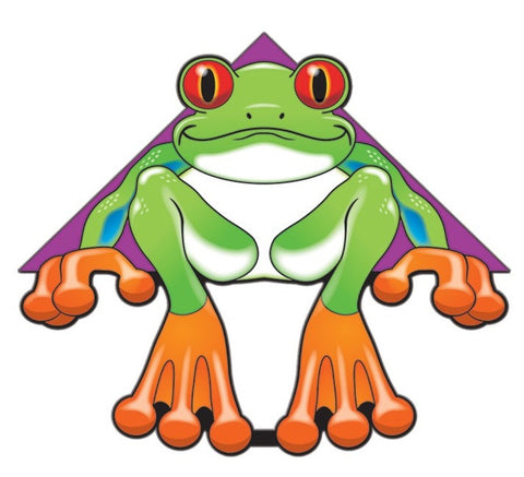 54 Inch WindnSun DeltaXT Tree Frog Kite