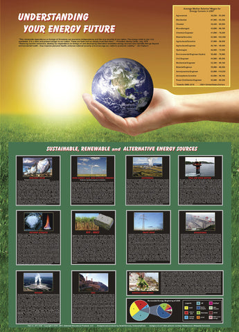 Understanding Your Energy Future - Environmental Science Poster, 38x26""