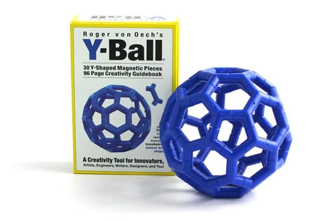 Roger von Oech's Y-Ball - 30 Piece Blue