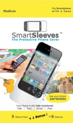 SmartSleeves The Protective Phone Cover-Fits Smartphone w/Case-Medium