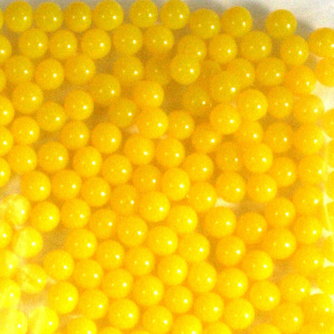 Yellow Rainbow Water Beads Growing Polymer Gel Balls-1 Pound