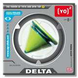 Yo2 Delta  Yo-Yo and Spin Top for Performance & Tricks - GREEN