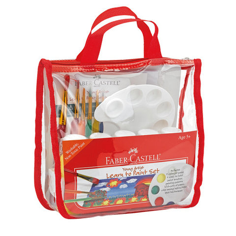 Kids Young Artist Learn to Paint Set -  Childrens Beginners Kit
