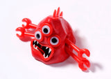 Blobimals Melting Red Monster Zeebit By Toysmith