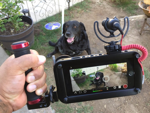 iPhone video rig with Rode Videomic - Helium Core