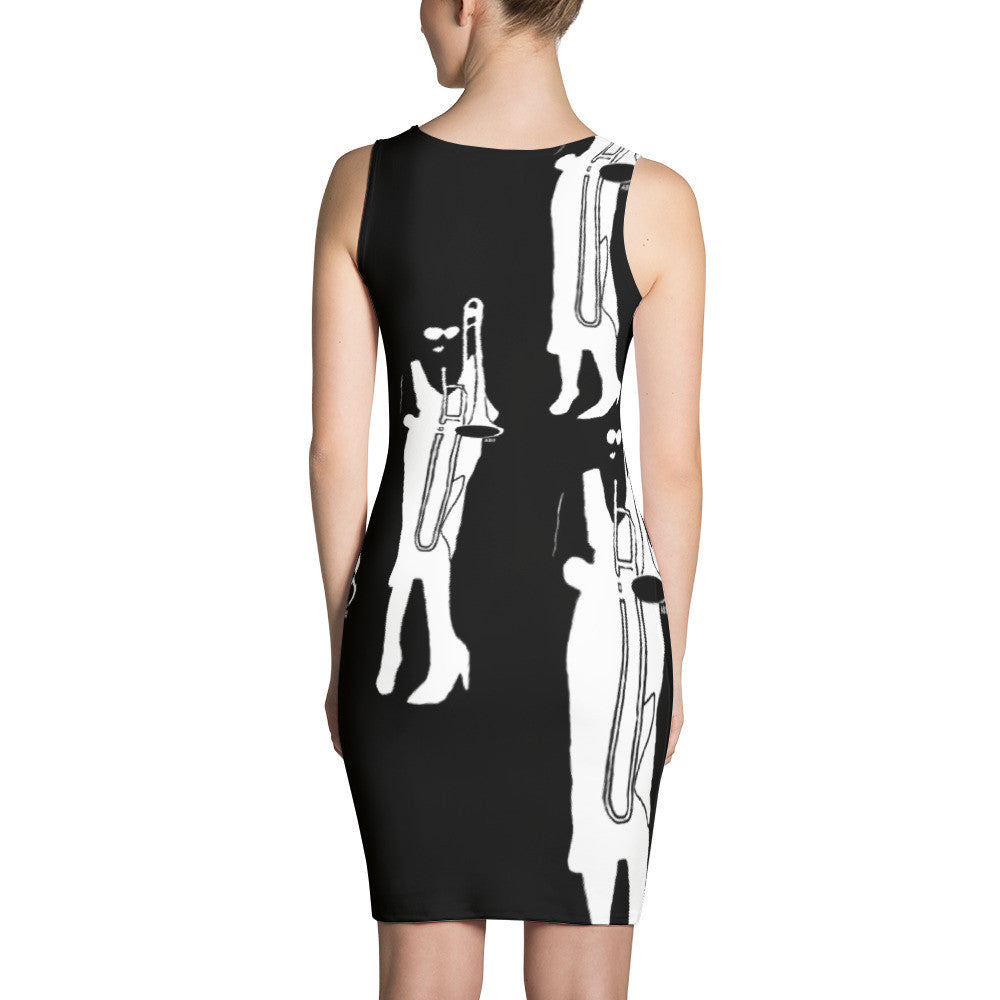Trumbone Sublimation Cut & Sew Dress