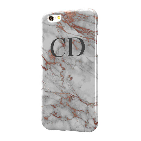 Grey Rose Gold Marble Large Top