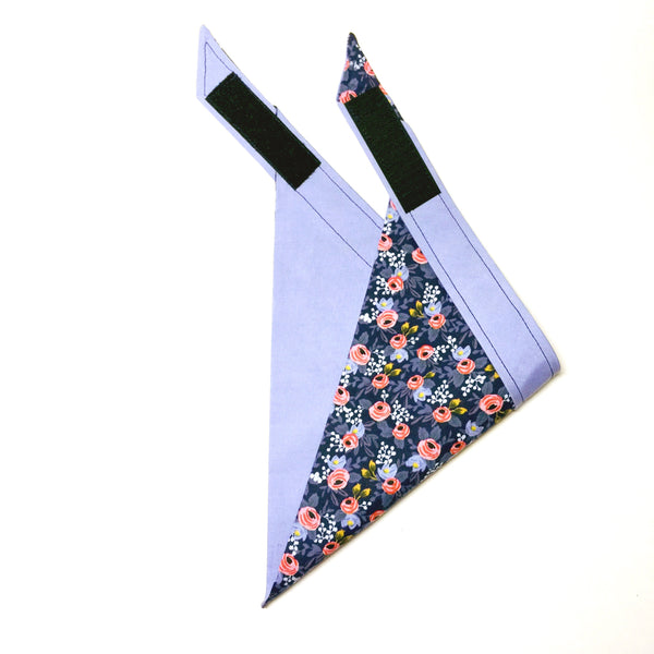 Rifle Paper Co - Navy Floral Dog Bandana
