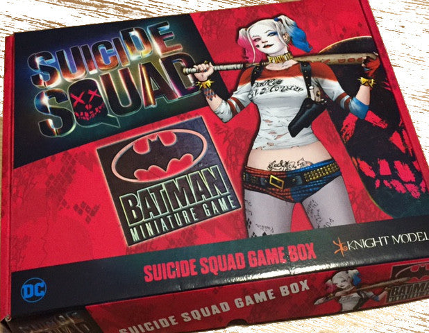 The Suicide Squad Game Box For BMG is Amazing!
