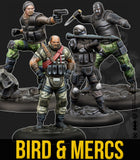 Bird & Mercenaries (Resin)