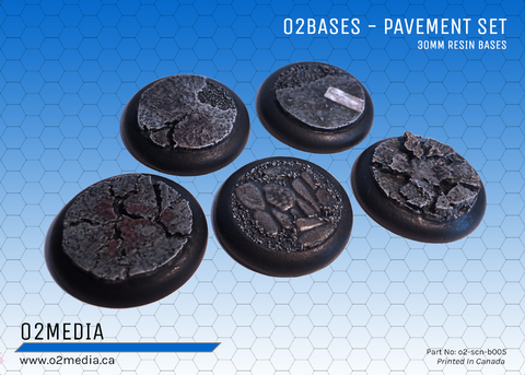 o2 Bases - Pavement Set