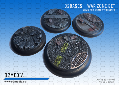 o2 Bases War Zone Set