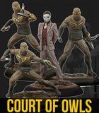 The Court of Owls Crew (Resin)