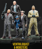 Ventriloquist and Mobsters