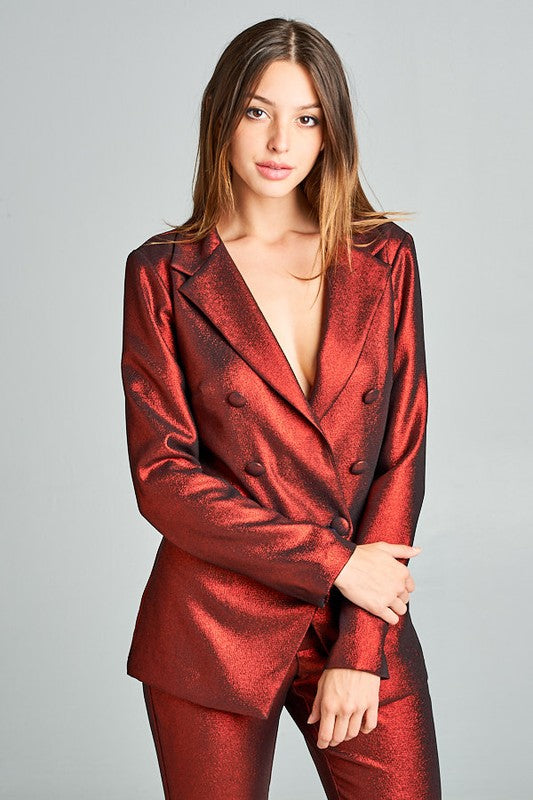 Drippin Metallic 2-Piece Suit