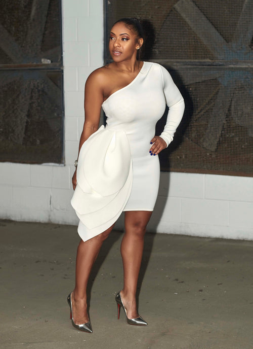 Feeling Godly White Dress - Haute Mood