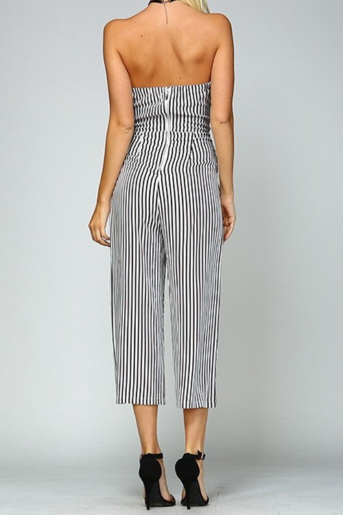 Pinned With Love Jumpsuit - Haute Mood