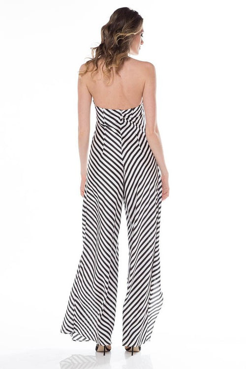 Cross For Words Jumpsuit - Haute Mood