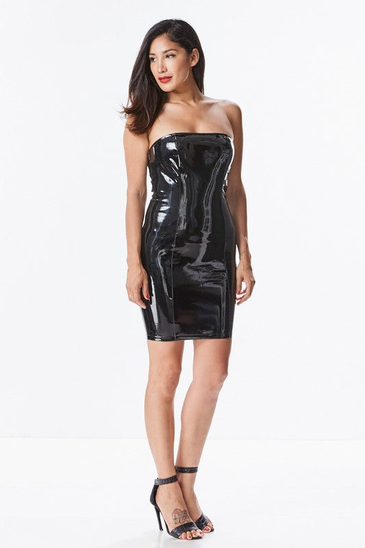 Latex Tube Dress