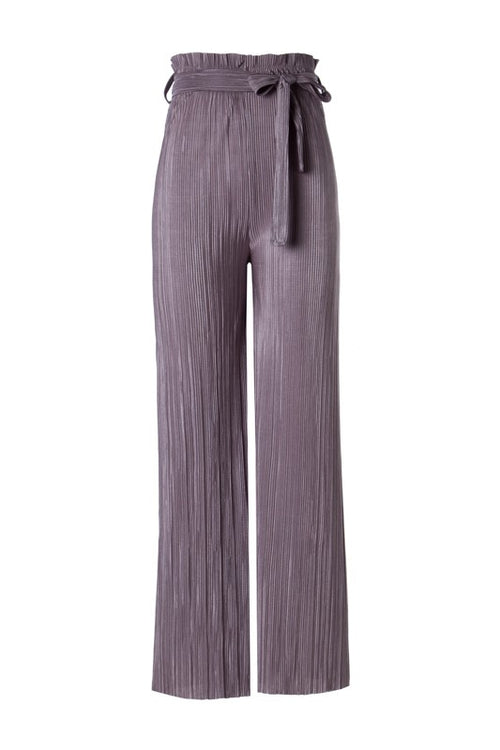 Pay Attention Pleats Pants - Haute Mood