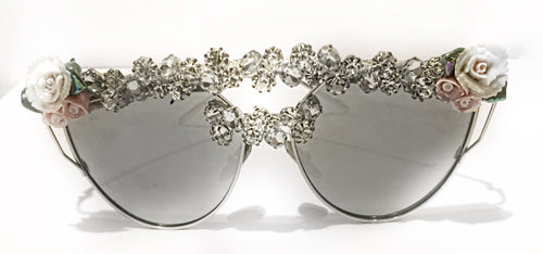 "TNEMNRODA ""Call Me Suga"" Sunglasses - Haute Mood"