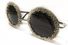 "TNEMRODA ""Raise A Glass"" Sunglasses - Haute Mood"