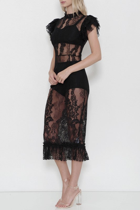 In The Heat of the Night Lace Dress