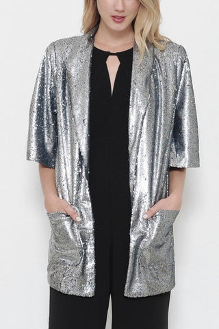 Sequin Disco Jumpsuit