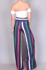 Buckle Up Pants Set - Haute Mood