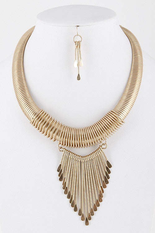 Tassle Necklace - Haute Mood