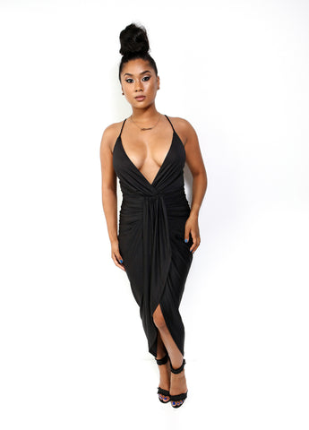 Waves Bodycon Dress