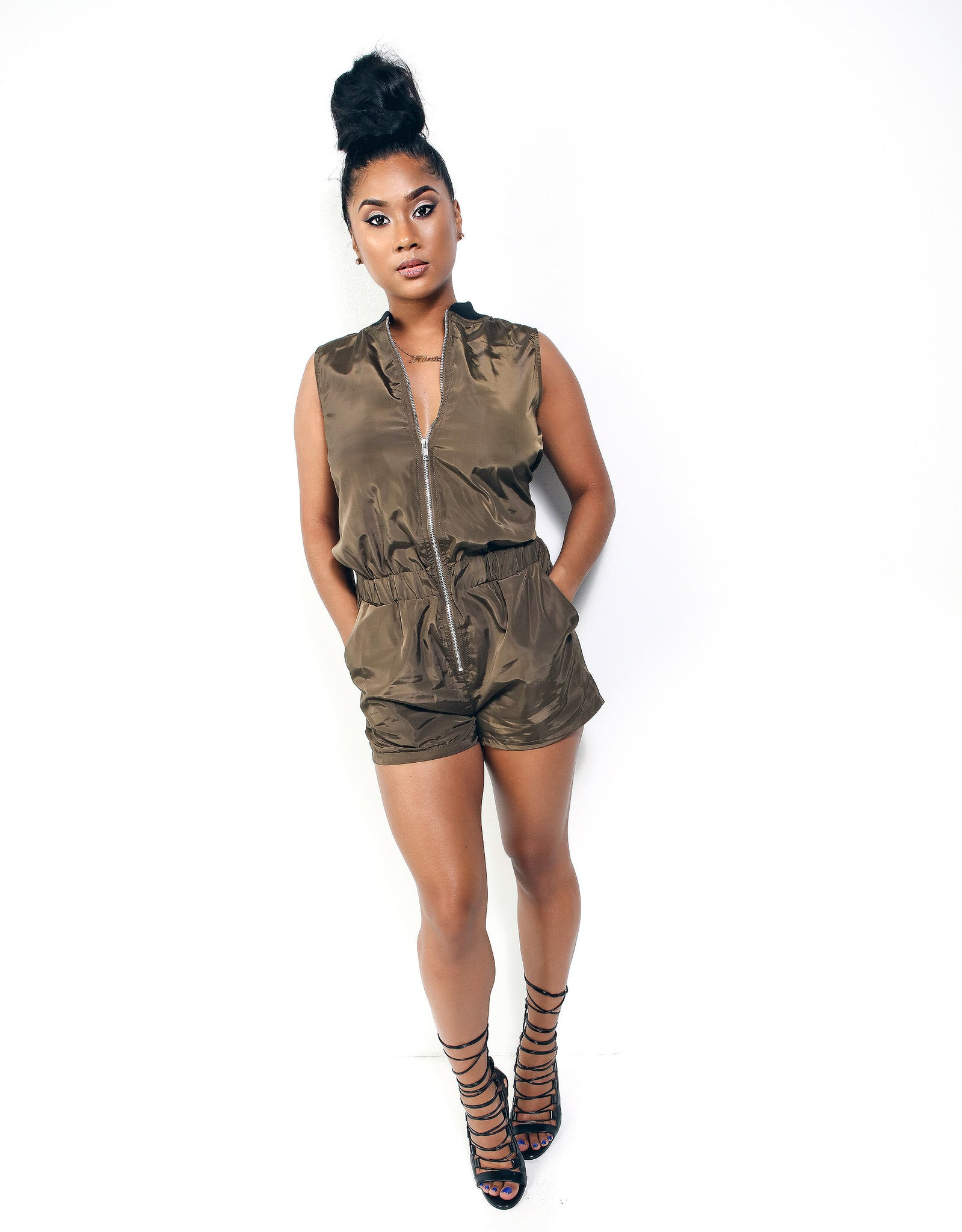 Top Gun Romper - Haute Mood