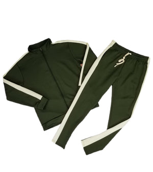 Olive Green Tracksuit